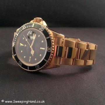 Gold Rolex 1680 Nipple Dial Submariner 002