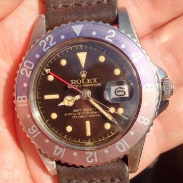Rolex GMT Master 1675 Gilt Dial PCG 001