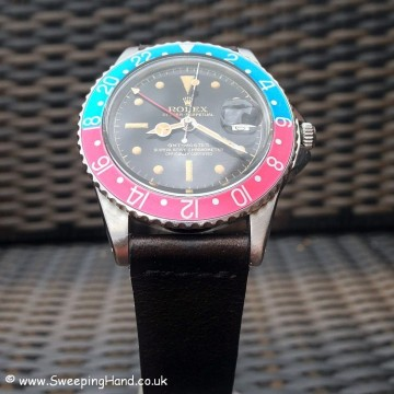 Rolex GMT Master 1675 Gilt Dial PCG 004