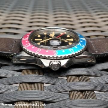 Rolex GMT Master 1675 Gilt Dial PCG 007