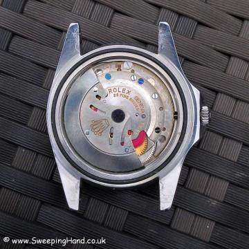 Rolex GMT Master 1675 Gilt Dial PCG 009