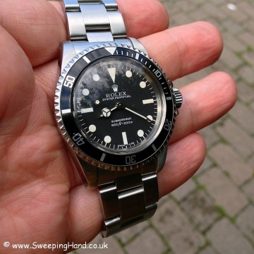 1979 / 1980 Rolex 5513 Maxi Dial Submariner - Full Collector Set
