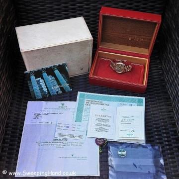 Rolex 1803 Rose Gold DayDate B&P 018