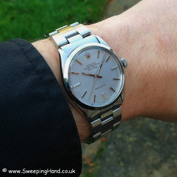 Superb Rolex Air King - still under Rolex International Warranty!