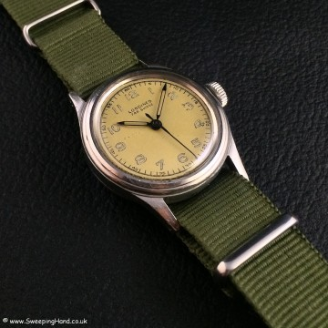 1940's French Navy Marine Nationale Issued Longines Fab Suisse