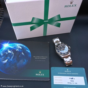 Superb Rolex 16660 Matte Dial Seadweller