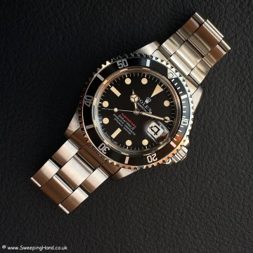 Rolex 1680 Red Submariner Meters First 003