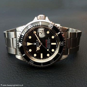 Rolex 1680 Red Submariner Meters First 004