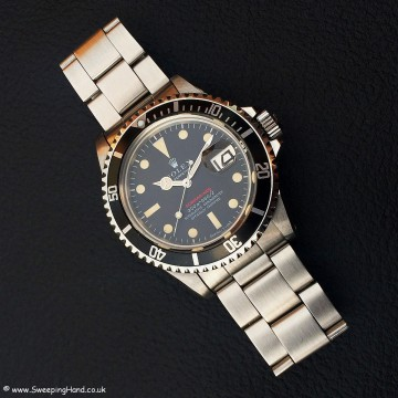 Rolex 1680 Red Submariner Meters First 005