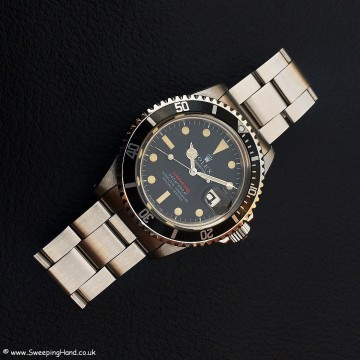 Rolex 1680 Red Submariner Meters First 006