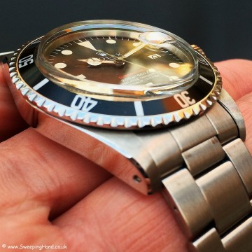 Rolex 1680 Red Submariner Meters First 007