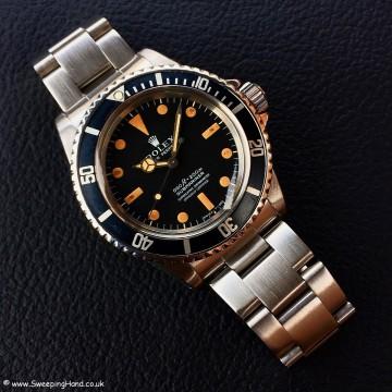 Stunning 1973 Rolex 5512 Submariner Pumpkin Orange Matte Dial - Still Under Rolex International Warranty!