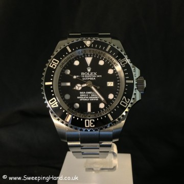 Rolex Clearance Diver Head on
