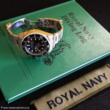 Limited Edition Royal Navy Rolex Clearance Diver Deepsea - 1 of 50!!