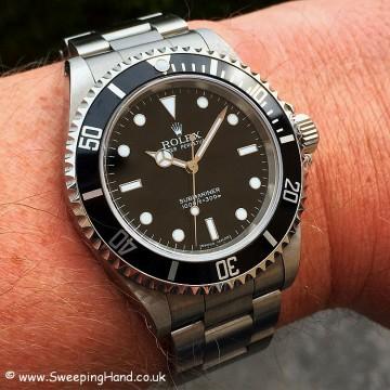Rolex 14060M Submariner wristshot