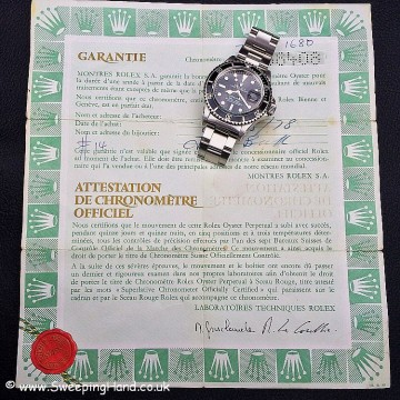 Stunning 1978 Rolex Submariner 1680 Collector Set