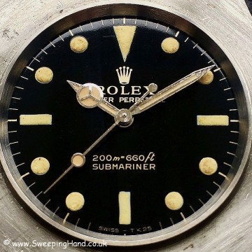 Gilt Dial Rolex 5513 Submariner -2