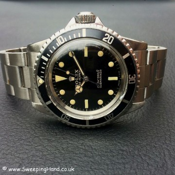 Gilt Dial Rolex 5513 Submariner -3