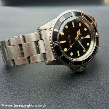 Gilt Dial Rolex 5513 Submariner -4