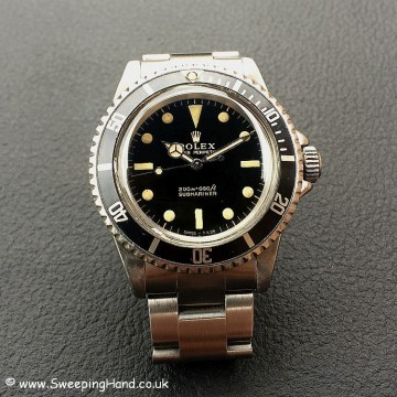 Gilt Dial Rolex 5513 Submariner -5