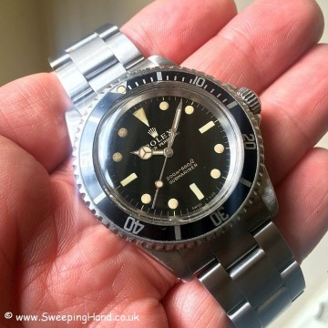 Gilt Dial Rolex 5513 Submariner -9
