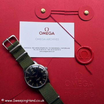 Very Rare Military Issued 1964 Omega Seamaster 30 PAF