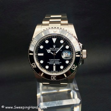2016 Rolex Submariner Date 116610LN UK Watch 5 Year Rolex International Warranty