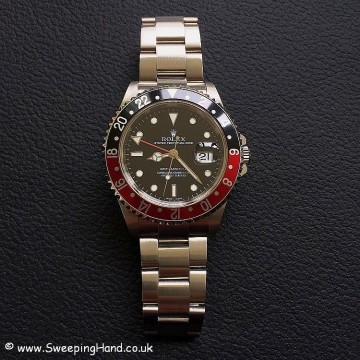 "Mint 2006 Rolex 16710 GMT Master II ""Coke"" Full Collector Set"