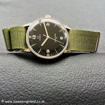 Very Rare PAF Military Issued Omega Seamaster 30 from 1968