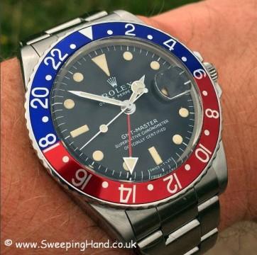 Stunning 1969 Rolex 1675 GMT Master MK1 'Long E' Matte Dial