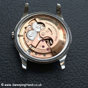 Omega Constellation Pie Pan movement