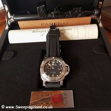 Super Rare Royal Navy Clearance Diver Unique Reference Panerai 00664 - 1 of 50