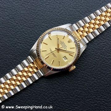1987 Rolex 16013 Bi-Metal Datejust