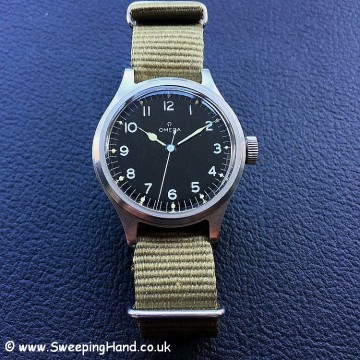 Stunning British Military Issued RAF Omega 56