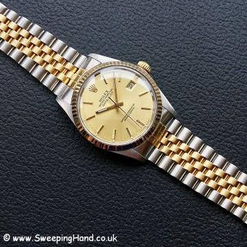 Rolex 16013 Bi-Metal Datejust