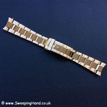 Rolex Gold Submariner 16808 bracelet 1