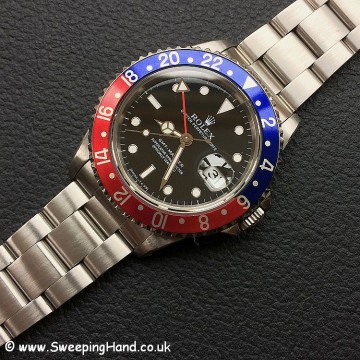 Tritium 1995 Rolex GMT Master Collector Set