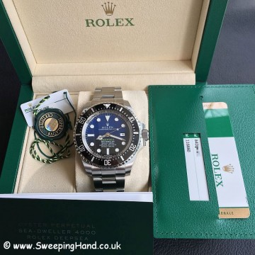 Rolex DeepSea Deep Blue James Cameron Ltd Edt 116660