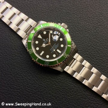 Rolex Submariner 16610LV 50 year anniversary 1