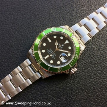 Rolex Submariner 16610LV 50 year anniversary 2