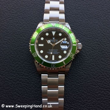 Rolex Submariner 16610LV 50 year anniversary 3