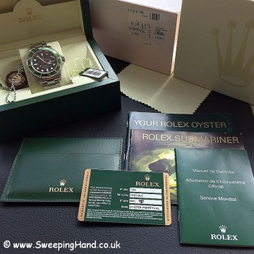 Rolex Submariner 16610LV 50 year anniversary 5