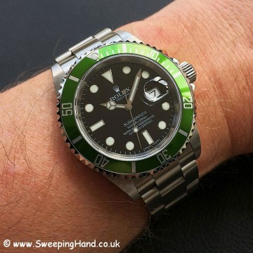 Rolex Submariner 16610LV 50 year anniversary 7