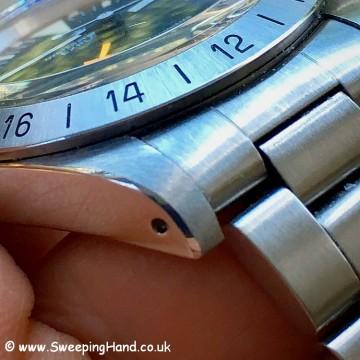 Superb 1978 Rolex 1655 Explorer II Freccione Steve McQueen