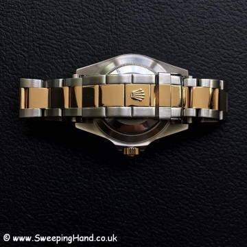 Stunning Rolex 16613 18k Gold Bi-Metal Submariner Collector Set