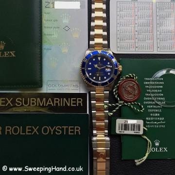 Rolex 16613 Blue Dial Bi-Metal 6