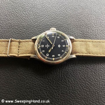 Rare 1953 British Military Issued Omega 53 RAF Watch