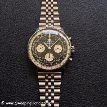 Rare 1966 Breitling Navitimer Cosmonaute 809