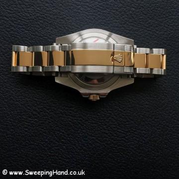 Like New Rolex 116713LN GMT-MASTER 18K Bi-Metal Ceramic Collector Set