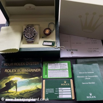 Mint Rolex Seadweller 16600 Collector Set - One of the last
